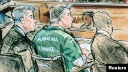 На оголошенні покарання у суді в Александрії, штат Вірджинія, 7 березеня 2019 р. Пол Манафорт сидів у візку