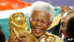 Мандела на нещодавньому Чемпіонаті світу з футболу у ПАР