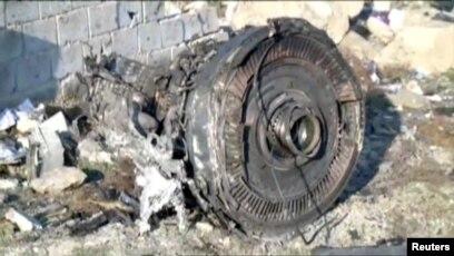Pesawat Boeing 737-800 milik maskapai Ukraina jatuh di Teheran, Iran.