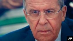 عکس آرشیوی از سرگئی لاوروف وزیر امور خارجه روسیه