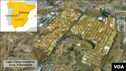 Khu công nghiệp Fuenlabrada, Tây Ban Nha, nơi băng đảng Trung Quốc bị triệt phá