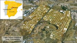 Industrial Area of Fuenlabrada, Spain
