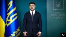 Обращение Владимира Зеленского к гражданам Украины