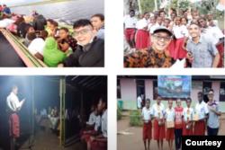 Kegiatan para guru dalam program Guru Penggerak Daerah Terpencil (GPDT). (Foto: courtesy)