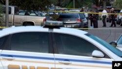 Kendaraan polisi Texas