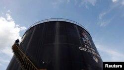 Instalaciones petroleras de Pacific Rubiales en la región de la provincia del Meta en Colombia.