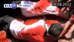 VOA60 Thế Giới 09/08/2012