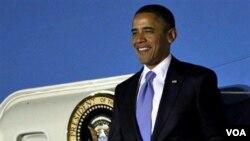 Presiden AS Barack Obama tiba di Seoul, Korea Selatan untuk menghadiri KTT G-20.