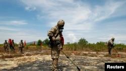Công tác rà phá bom mìn ở Đà Nẳng