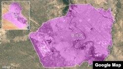 伊拉克和巴格达谷歌卫星地图