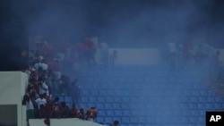 Des supporteurs de la Guinée équatoriale causent des troubles lors de la demi-finale de la CAN 2015 contre le Ghana