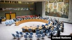 聯合國安理會通過設朝決議(圖片來源:聯合國)
