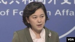 Phát ngôn viên Bộ Ngoại giao Trung Quốc Hoa Xuân Doanh