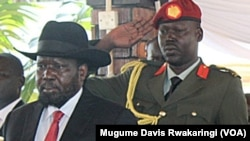 South Sudanese President Salva Kiir .