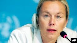Diplomat Belanda, Sigrid Kaag untuk mengepalai misi PBB untuk pemusnahan senjata kimia di Suriah (foto: dok).