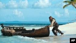 Johnny Depp y Helena Bonham-Carter, serán los protagonistas de 'Piratas del Caribe 5'