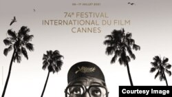 Плакат 74-го Каннского кинофестиваля. Courtesy Photo.