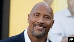 """Johnson, más conocido como """"The Rock"""" el nombre que usó cuando era profesional de la lucha libre, es uno de los actores más admirados de Hollywood."""