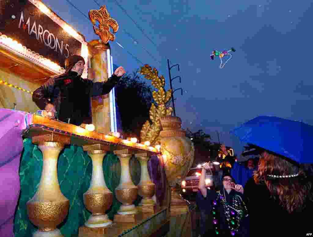 Карнавал Марді Гра - найбільша розвага року для мешканців та гостей Нового Орлеану, США.