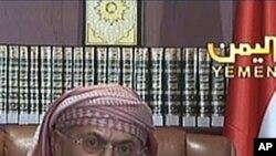 也门总统萨利赫9月25日在萨那向全国发表电视讲话