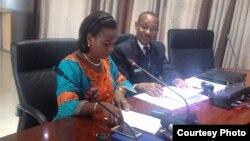 Mme Kayisime na Mayor wa Nyarugenge