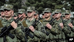 Arhiva - Pripadnici Bezbednosnih snaga Kosova.