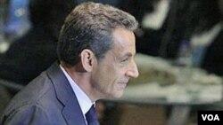 Sarkozy dijo que la caída de Grecia significaría la caída de toda Europa.