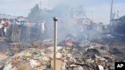 L'explosion d'une bombe artisanale de Boko Haram au Nigeria
