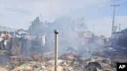 ARCHIVES - Une explosion à Maidugrui, Nigeria