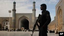 پولیس در هرات (عکس از آرشیف)