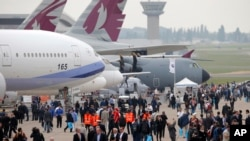 Pesawat China Airlines di Paris. (Foto: Ilustrasi)