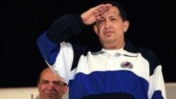 چاوز پس از تفويض بعضی اختيياراتش برای شيمی درمانی به کوبا رفت