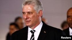 미겔 디아스카넬 쿠바 국가평의회 의장