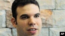 Dan Gertler, homme d'affaires ya Israël, na Tel Aviv, 18 september 2000.