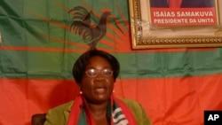 Amélia Judite, secretária provincial da UNITA na Huíla
