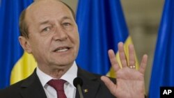 Predsednik Rumunije Trajan Basesku
