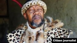 Chief Felix Nhlanhlayamangwe Ndiweni