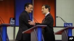 Тед Круз и Марко Рубио (архивное фото)