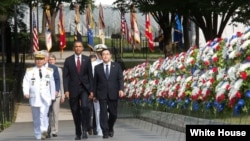 President Barack Obama, commemorate the 60th anniversary of the signing of the Armistice that ended the Korean War
