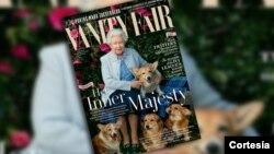 La revista conmemora los 90 años de la reina Isabel II luciendo en su portada una foto tomada por la estadounidense Annie Leibovitz.