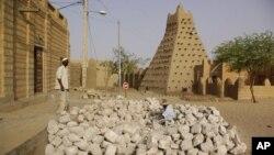 Тимбукту, Мали. 1 мая 2012 г.