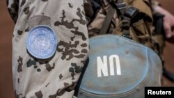 Un soldat de la Minusma, à Gao, Mali, le 5 avril 2016.