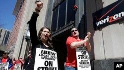 Empleados en Filadelfia señalan que el tema de discordia es cómo evitar que la empresa traslade puestos de trabajo al exterior.