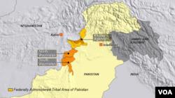 North and South Waziristan, Khyber, Pakistan