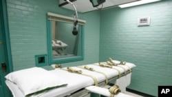 Salle d'exécution de Huntsville dans l'Etat du Texas, 27 mai 2008