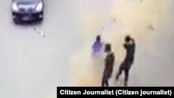 ေတာင္ႀကီးၿမိဳ႕ ဗုံးေပါက္ကြဲမႈ CCTV မွတ္တမ္း (CJ) ၊ ေမလ ၂ဝ၊ ၂ဝ၂၁