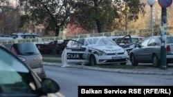 Mjesto zločina u naselju Alipašino Polje, Sarajevo, 26, oktobar 2018.