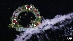 """Venac na mestu gde je potonuo brod """"Titanik"""""""