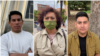 El retorno de la democracia es uno de los propositos de nicaragüenses entrevistados por la Voz de América en Madrid, España. [Combinanción de fotos/Júlia Riera-VOA]