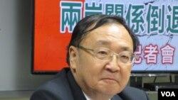 台灣文化大學政治講座教授陳一新(資料照片)